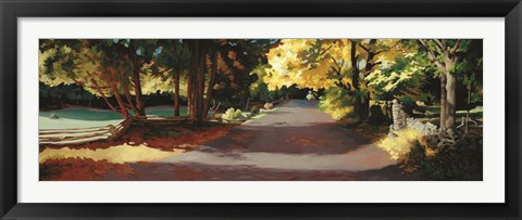Framed Ephraim County Road Print