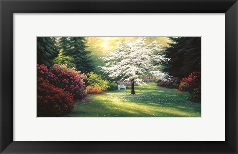 Framed Spring Morning Print