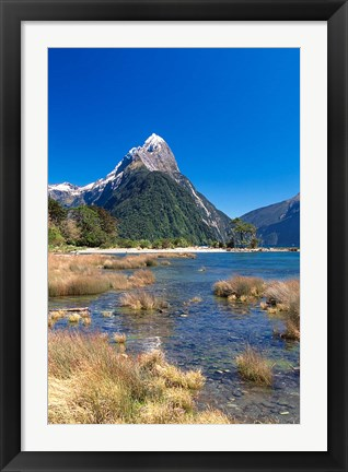 Framed Fiordland National Park, New Zealand Print