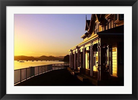 Framed New Zealand, Fullers Building, Paihia, Bay of Islands Print