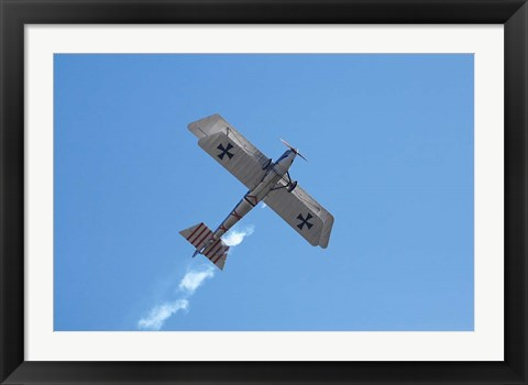 Framed New Zealand, Otago, Warbirds, Vintage Airplanes Print