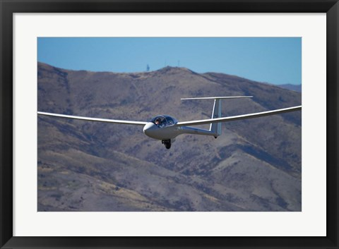 Framed Glider, Warbirds over Wanaka, Wanaka, War plane, Otago, South Island, New Zealand Print