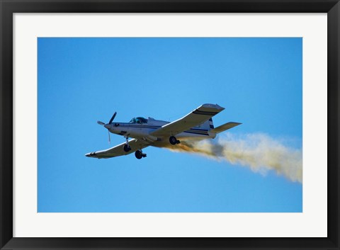 Framed Pacific Aerospace Cresco 750, Warbirds Over Wanaka, war plane, New Zealand Print