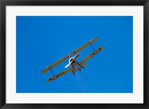 Framed Sopwith Camel, WWI Fighter Plane, War plane Print
