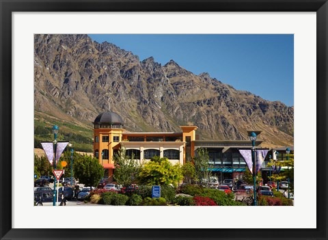 Framed Remarkables Park Shopping Centre, Otago, New Zealand Print