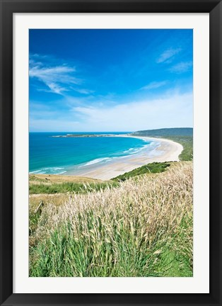 Framed New Zealand, South Island, Catlins, Tautuku Bay Print