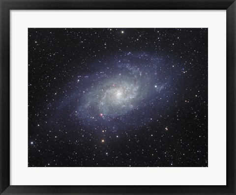 Framed Triangulum Galaxy Print