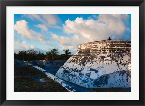 Framed Bahamas, Nassau, Fort Charlotte, Fortification Print