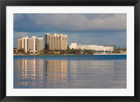 Framed Bahamas, New Providence, Nassau, Resort hotels Print