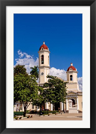 Framed Immaculate Conception Cathedral, Cienfuegos Cuba Print