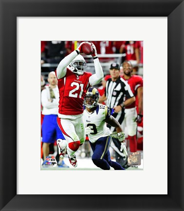 Framed Patrick Peterson with the ball 2014 Print