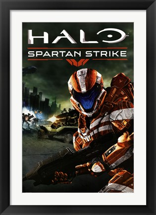 Framed Halo - Spartan Strike Print