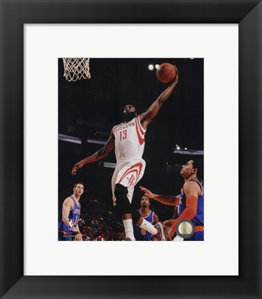 Framed James Harden 2014-15 Action Print