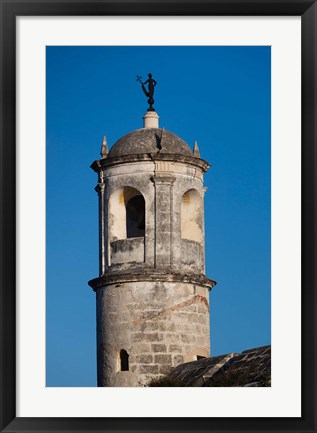 Framed Cuba Havana, Castillo de Real Fuerza Fortification Print