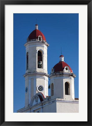 Framed Cuba, Catedral de Purisima Concepcion cathedral Print