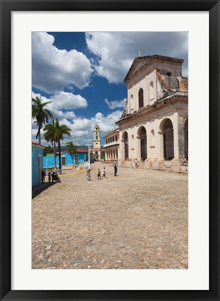 Framed Cuba, Trinidad, Holy Trinity Church Print