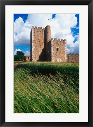 Framed Fort, Spanish Colonial City, Dominican Republic Print