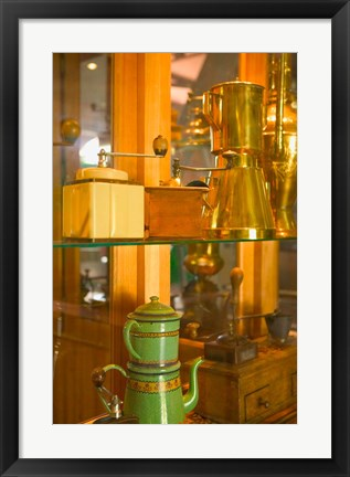 Framed Coffee Museum and Roasters, Basse-Terre, Guadaloupe, Caribbean Print