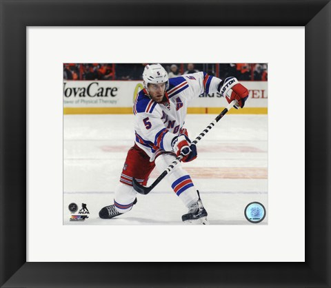 Framed Dan Girardi 2014-15 Action Print