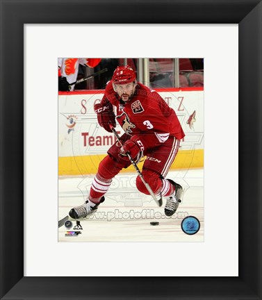 Framed Keith Yandle 2014-15 Action Print