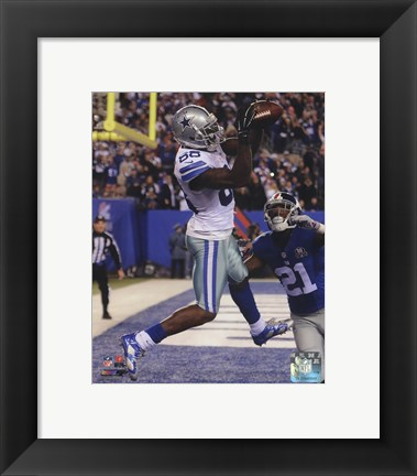 Framed Dez Bryant 2014 football Print