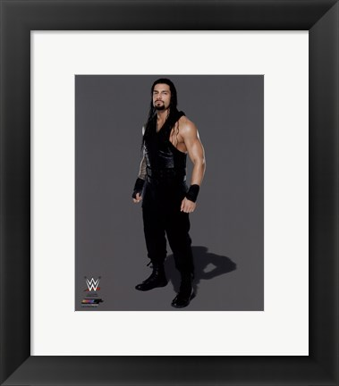 Framed Roman Reigns 2014 Posed Print