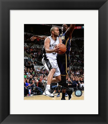 Framed Tony Parker 2014-15 Action Print
