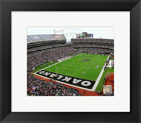 Framed O.co Coliseum 2014 Print