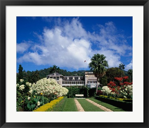 Framed St James, Port of Spain, Trinidad, Caribbean Print