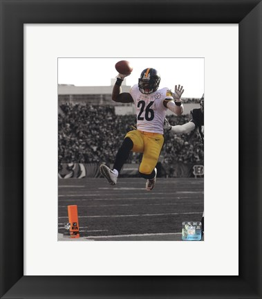 Framed Le'Veon Bell 2014 Spotlight Action Print