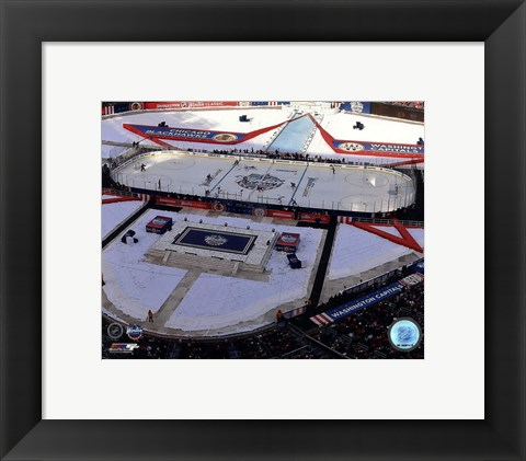 Framed Nationals Park 2015 NHL Winter Classic Print