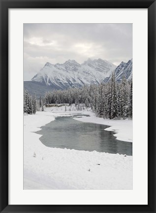 Framed Icefields Parkway, Jasper National Park, Alberta, Canada Print