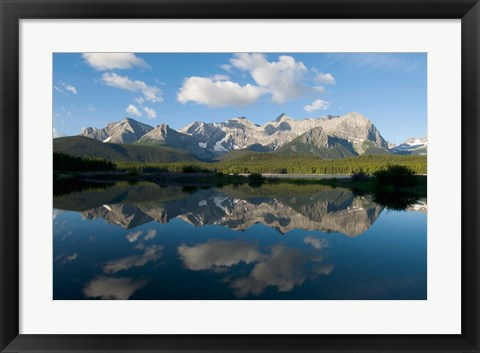 Framed Lower Kananaskis Lake, Peter Lougheed Park, Alberta Print