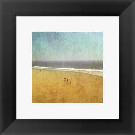Framed Beach Kids Print
