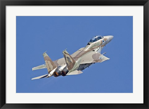 Framed F-15I Ra'am of the Israeli Air Force Print