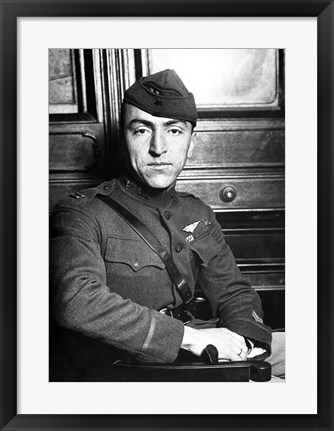 Framed Eddie Rickenbacker (digitally restored) Print