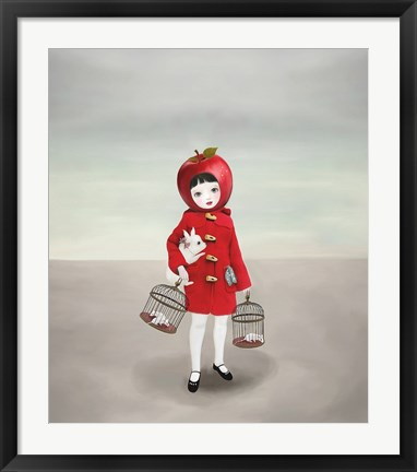 Framed Ruby Print