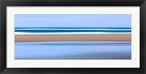 Framed Pacific Stripes Print