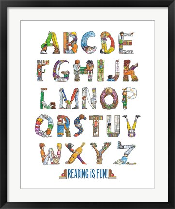 Framed Reading Is Fun! Print