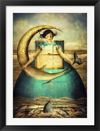 Framed Foolish Moon's Dream Print