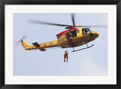 Framed CH-146 Griffon of the Canadian Forces Print