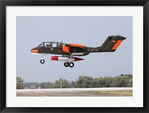 Framed Rare OV-10 Bronco in German Air Force Markings Print