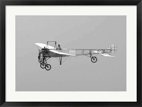 Framed Replica of the Wright Flyer Print