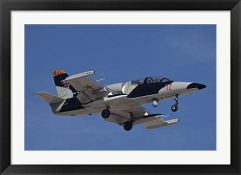 Framed L-39ZA Albatros Used as a Threat Simulation Aircraft with a FLIR Turret Print