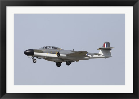 Framed Gloster Meteor Historic Jet of the Royal Air Force Print