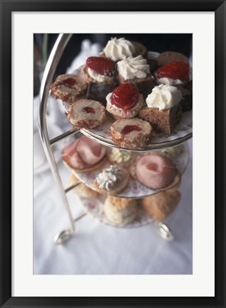 Framed High Tea in Stanley Park, Vancouver, British Columbia, Canada Print