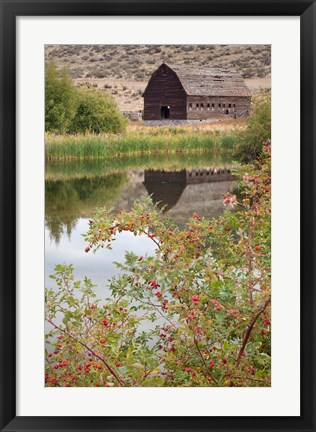 Framed Canada, Osoyoos Haynes Ranch Buildings Preservation Project Print