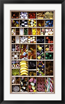 Framed Sweets I Print