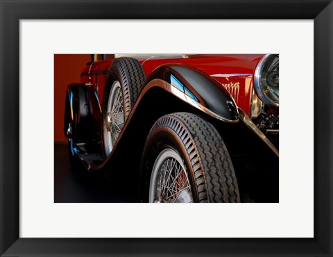 Framed Mercedez - Benz 1929 Print