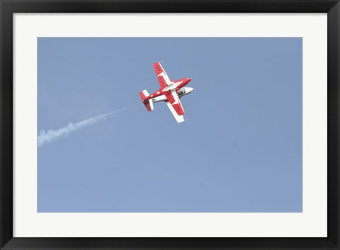 Framed Snowbirds 431 Air doing a Demonstration Print